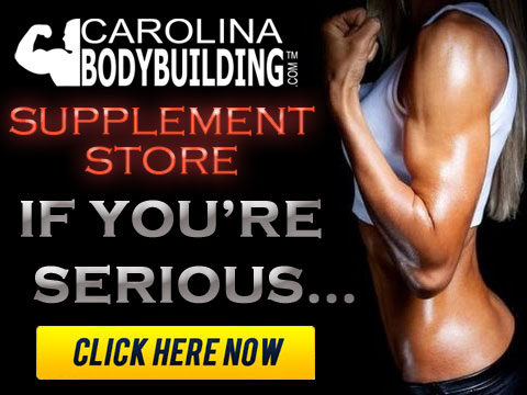 carolina bodybuilding STORE