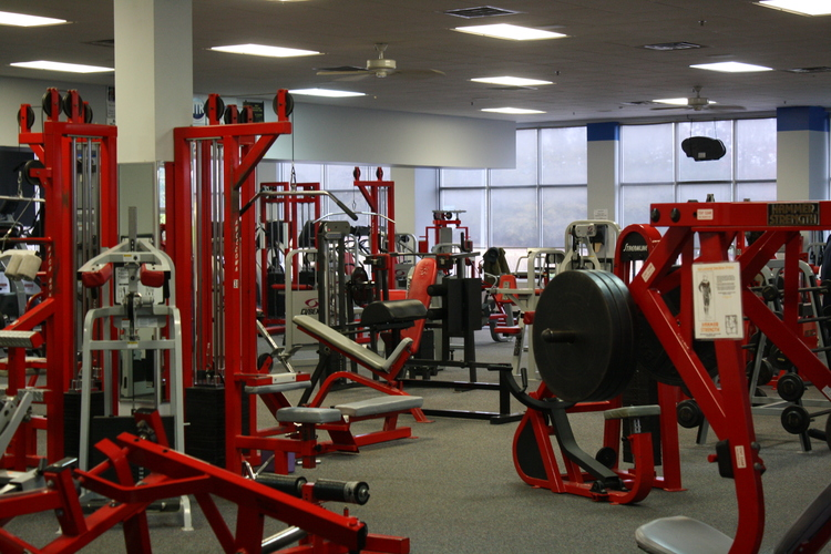 clayton fitness weight room