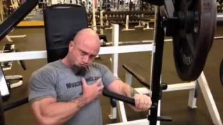 Chest triceps and shoulder day