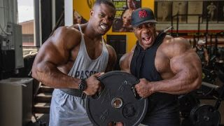 Working Arms with Simeon Panda at The Mecca Golds Gym Venice Beach