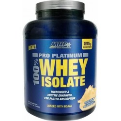 100 Percent Platinum Whey-Isolated - Fast Absorption and BCAA