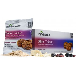 Slim Cakes - Fiber, Whole Oats and Flaxseed Snacks
