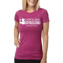 Carolina Bodybuilding Custom Womens Fitted T-Shirt