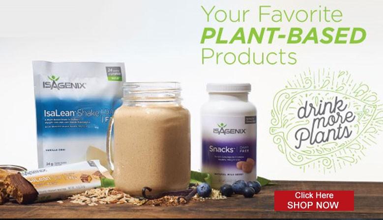 IsaLean plant based shakes